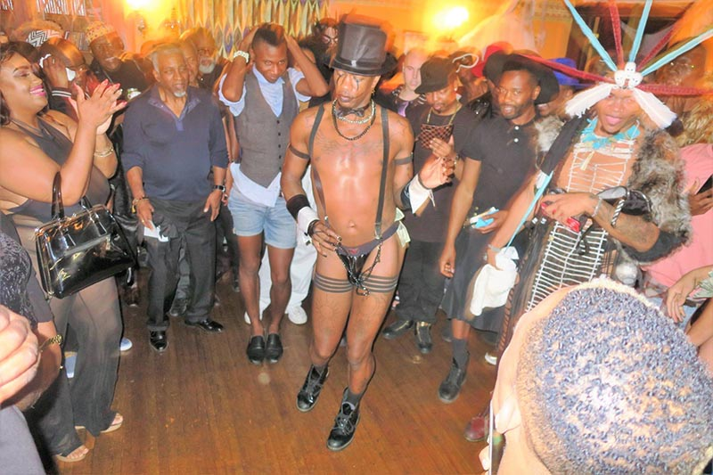 annual black party celebration