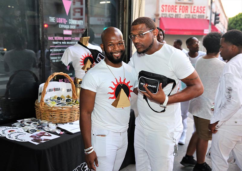 black pride opening reception